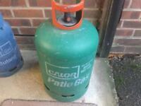 Calor gas bottle approximately 1/2 full £25