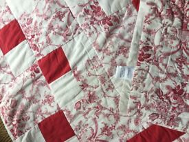 NIMBUS - QUILTED, PATCHWORK STYLE - DOUBLE BED SPREAD