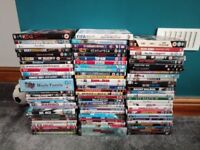 Large selction of DVDs and Boxsets