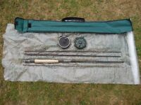 Vantage 9' Travel Fly Fishing Rod with 2 Reels + Floating & Sinking Lines.