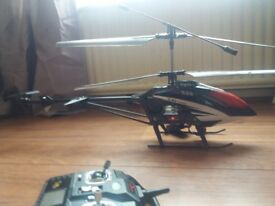 Remote control 3D fully function helicopter