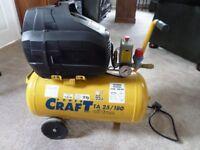 Air compressor POWER CRAFT TA 25-180 oil free