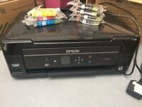 Epson XP322 all-in-one printer (print/copy/scan) INCLUDING NEW INK