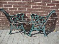 Aluminium Garden Bench Ends
