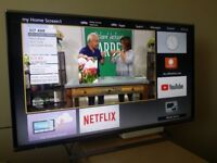 "Excellent 42"" PANASONIC LED SMART TV full hd ready 1080p freeview inbuilt"