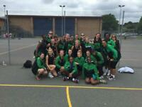 Netball players wanted for a friendly social team