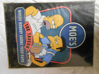 """The Simpsons - Large Metal Sign 16"""" x 12"""" Homer / Moe's Tavern"""