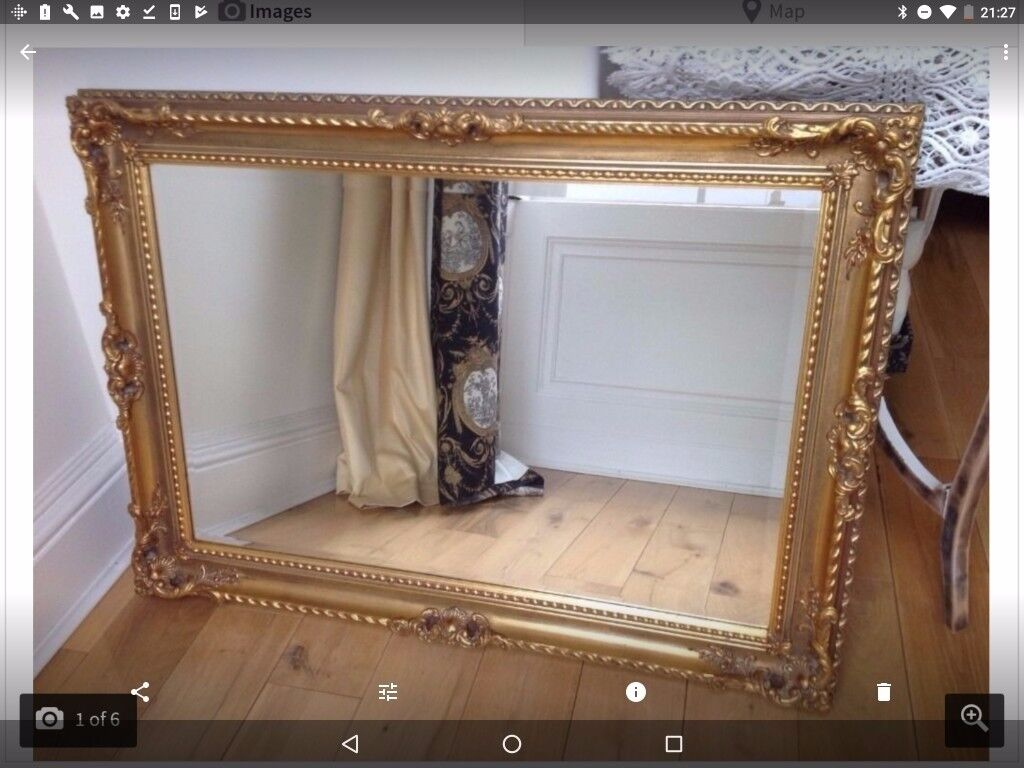 Large Antique Vintage Ornate Mirror In Edinburgh Gumtree