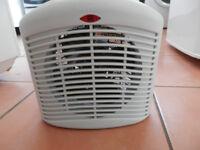 desk top fan or heater