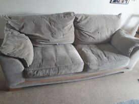 3-4 seater sofa free to collect