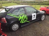 MG ZR track day car
