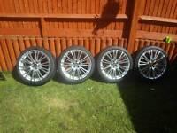 "18"" oz alloy wheels vw seat audi Chrysler"