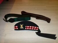 glengarry and belts