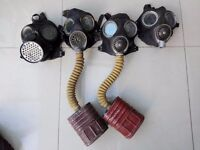World War 2 British Army Gas Masks - For Display Purposes Only - £15 each - £50 for all 4