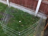 Pet pen for the garden for rabbits etc