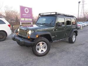 2009 Jeep WRANGLER Rubicon UNLIMITED CLEAN CAR PROOF NEW TIRES W