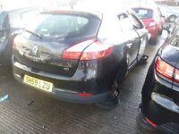 Breaking Renault mk3 megane mk3 and mk4 clios