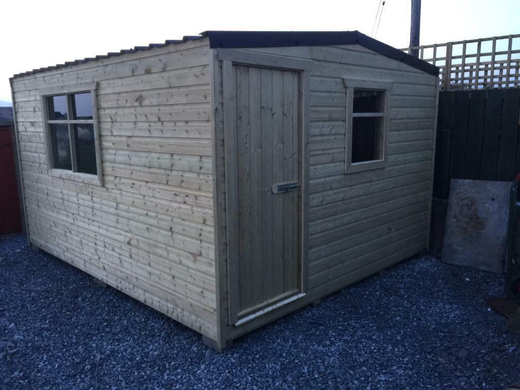 top quality sheds summerhouses man caves in belfast city - Garden Sheds Gumtree