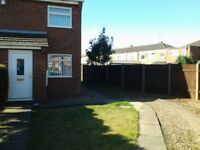 2 Bedroomed Semi detached house with private drive.