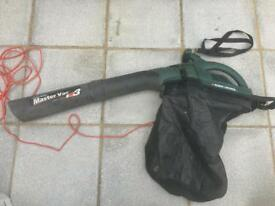 Master Vac 1600w leaf vacuum