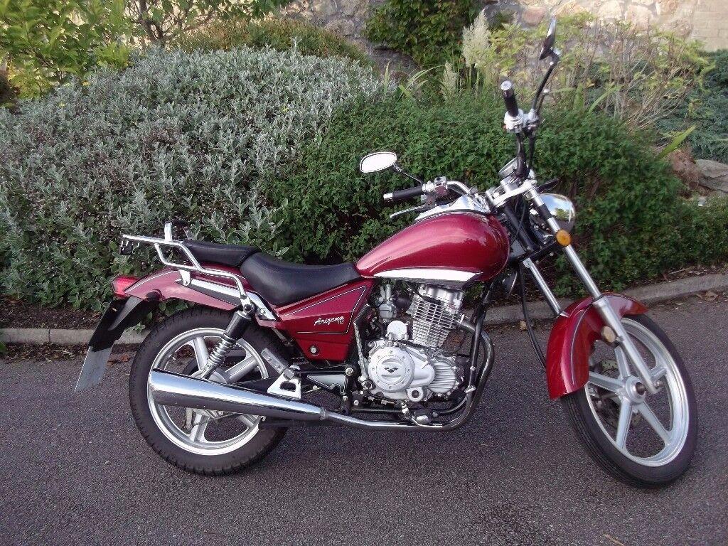 Lexmoto Arizona 125cc 66 Plate 2700 Miles Ideal Learner Bike