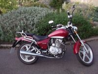 Lexmoto Arizona 125cc, '66 plate, 2700 miles - ideal learner bike in good condition