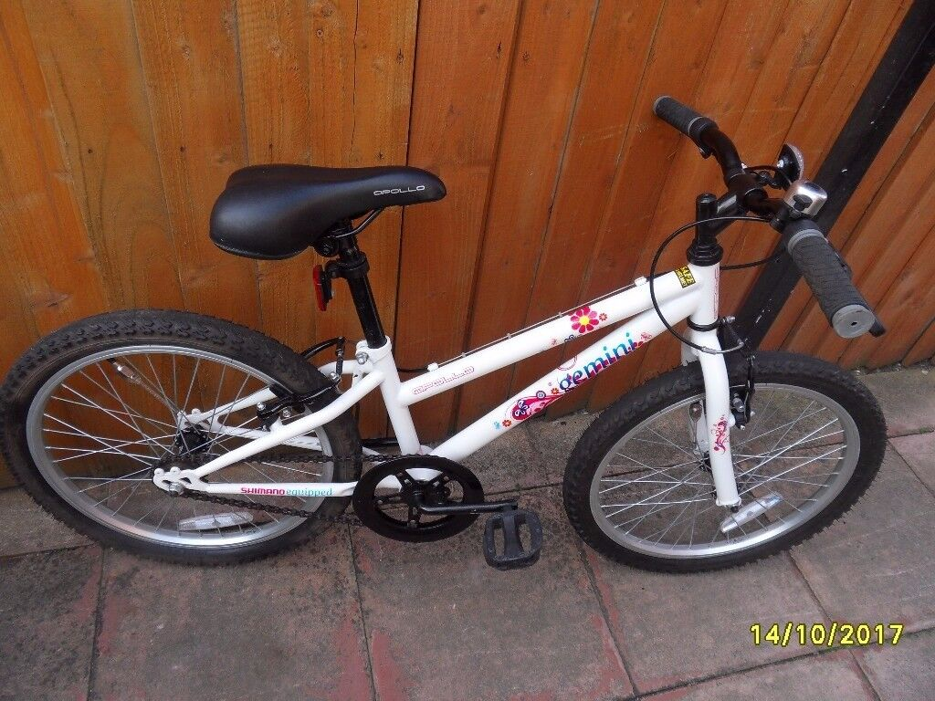 a childs bike like new condition