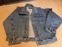 Mens Denim Jacket / Coat size L by Blakes
