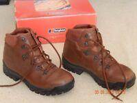 Mens Leather Hiking Boots - Now Sold.