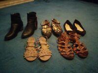BARGAIN - Size 6 Women's Shoes - 5 Pairs Bundle