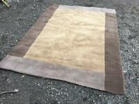 LARGE -NEXT RUG 100% WOOL 240cm X 170cm Can deliver.