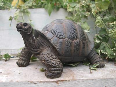 Schildkröte (Schildkröte naturgetreu lebensecht GARTENFIGUR GARTEN DEKORATION NEU HOTANT)