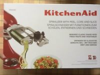 Brand New, unused Kitchenaid attachment for Kitchenaid Artisan Food Mixer.