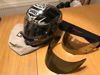Job Lot of motorbike leathers, helmets and accessories