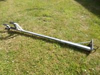 Yacht Dinghy Trailer Mast Support Post, Fully Galanised & Adjustable Height 5ft - 6ft, Fixing Clamp
