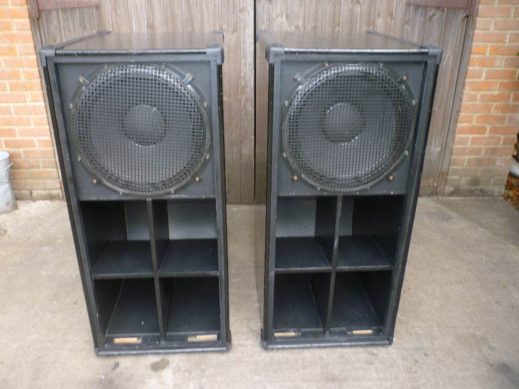 J.T.S. High Power Amplifiers |Scoop Bass Bins