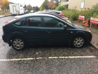 2006 Ford Focus 1.6LX 5Dr 83,000 miles (A/C) Petrol (1 years MOT*)