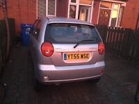 Chevrolet Matiz. Cheap, good runner. Long MOT