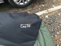 Stillwater carp pit camping bed