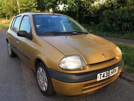 Renault Clio 1.6 automatic petrol mileage 60k