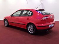 SEAT LEON 1.8 20V TURBO SPORT ONE OWNER 10 SERVICE STAMPS ONLY 96K