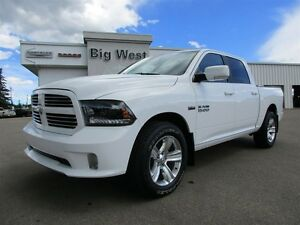 2015 Ram 1500 CREW CAB SPORT 4x4 LEATHER / SUNROOF / CAMERA Edmonton Edmonton Area image 1