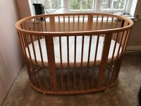 Stokke Sleepi Cotbed with mattress perfect condition
