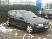 Volkswagon Golf GTI - spares or repair