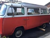 Volkswagen campers and parts