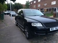Volkswagen touareg spaire or repair,