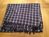 Large cotton Topshop scarf