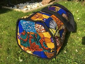 African Kitenge Weekend Bags