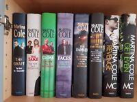 Martina Cole hardback books