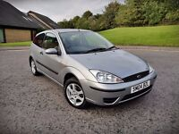 2004 FORD FOCUS FLIGHT...1.6 PETROL...ONLY 1 OWNER...LOW MILEAGE...FULL YEAR MOT